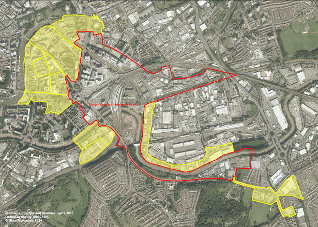 Proposed Enterprise Zone expansion