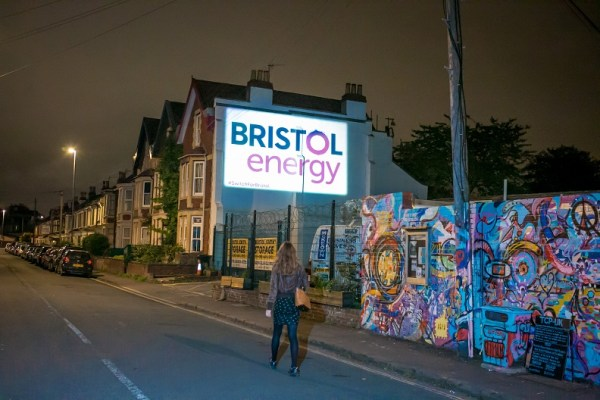 Bristol Energy projection in Southville