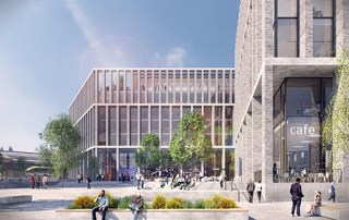 Visual of the new campus