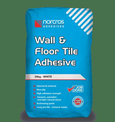 norcros wall floor adhesive 20kg