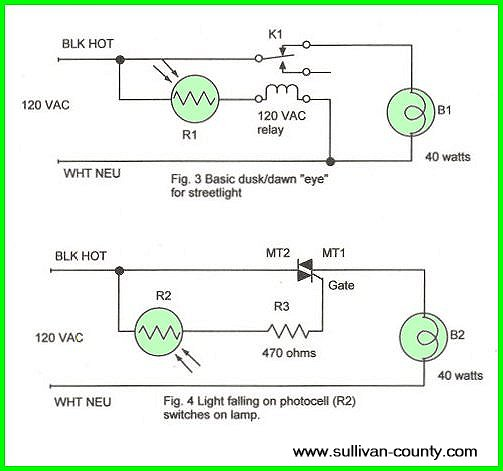 photocell lighting control wiring diagram of a star delta motor starter photocells in series free for you using cds photoresistor tutorial rh bristolwatch com