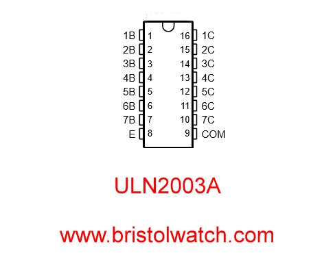 ULN2003A Darlington Transistor Array Circuit Examples