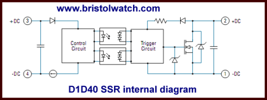 solid state relay wiring diagram 2010 mazda 3 parts connecting crydom mosfet relays internal block d1d40 output ssr
