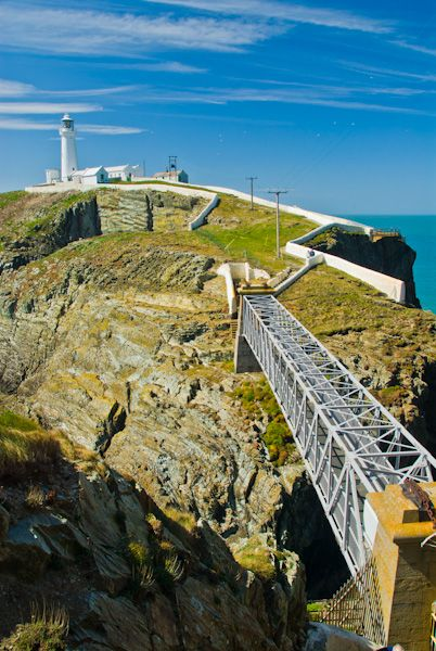 South Stack Lighthouse Anglesey  History  Photos