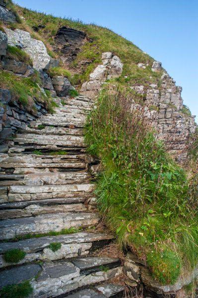 Whaligoe Steps  Historic Caithness Guide