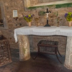 The Mermaid Chair Material To Upholster Dining Chairs Zennor Church And Of Historic Cornwall Guide Norman Altar Slab