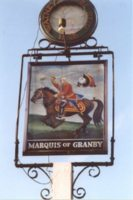 Marquis of Granby pub sign
