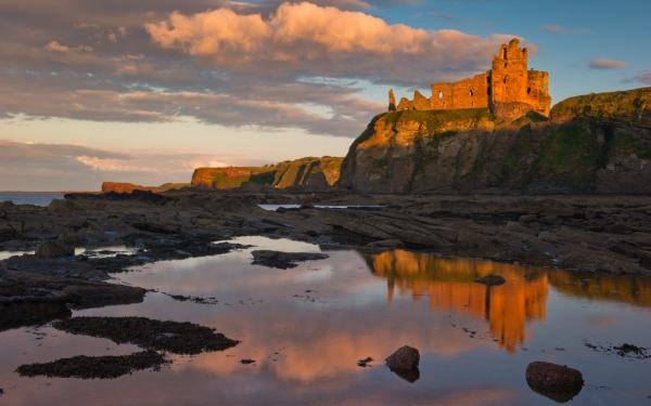 Late Fall Desktop Wallpaper Photo Of Tantallon Castle East Lothian