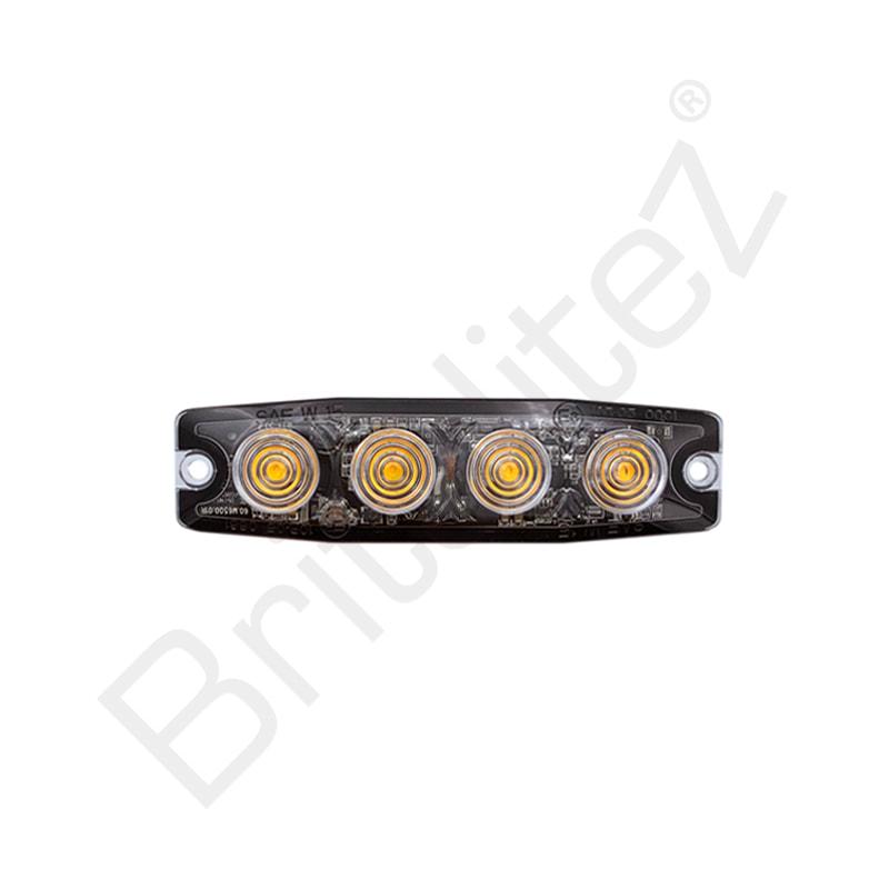 Ultra Thin 1W Grille / Direction Strobe Light (ECE R10