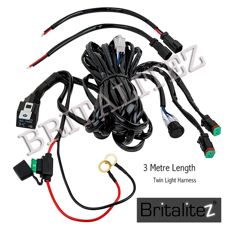 Britalitez 12V Wiring Looms Automotive