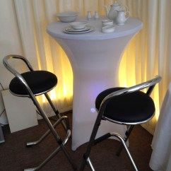 Chair Covers Yeovil Ikea Gaming Poseur Table Cover White Not Including Britannia