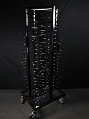 Mobile jack stack / plate rack ( 100 plates )
