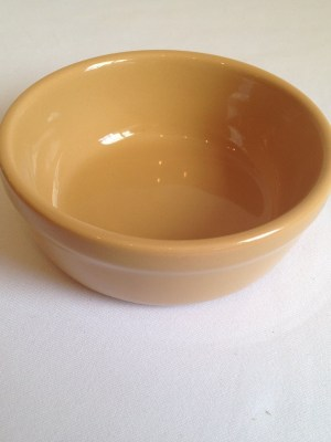 ROUND PIE / SERVING DISH / BOWL INDIVIDUAL (41mm h x 119mm d)