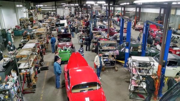 Visiting JD's British Cars