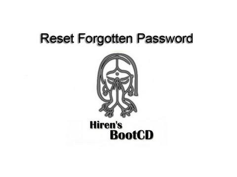 Remove or Bypass Forgotten Windows 7 Password