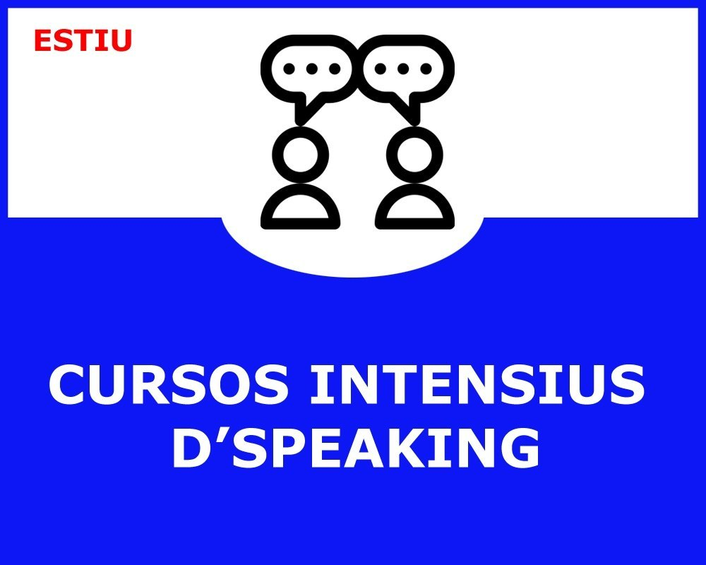 CURSOS INTENSIUS D´SPEAKING
