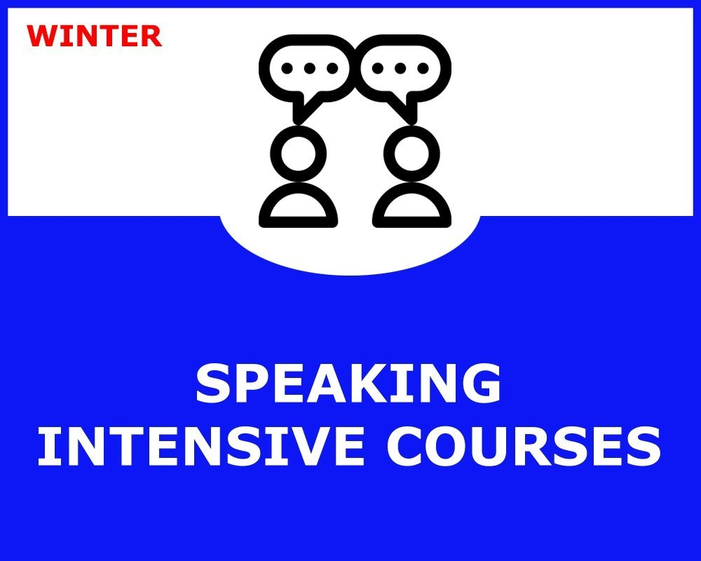 WINTER SPEAKING COURSE