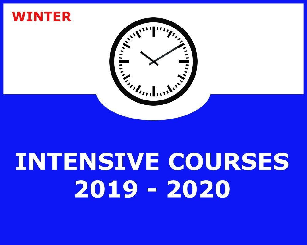WINTER INTENSIVE ENGLISH COURSES