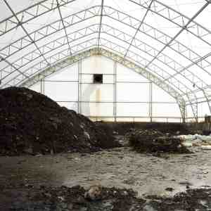 80' x 130' Compost Storage Fabric Building