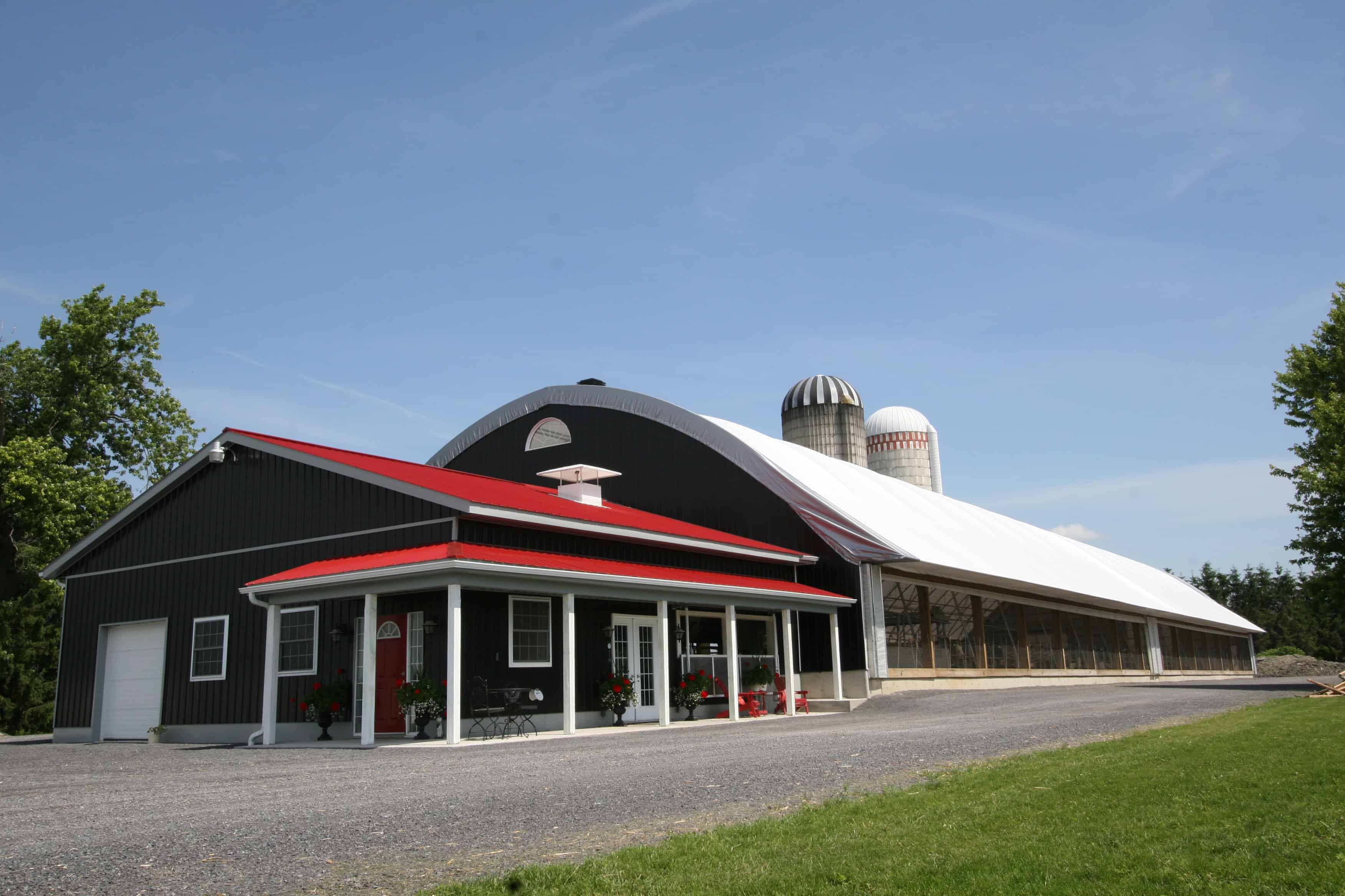 Dairy Barn and Milking Parlor - Britespan Building Systems Inc