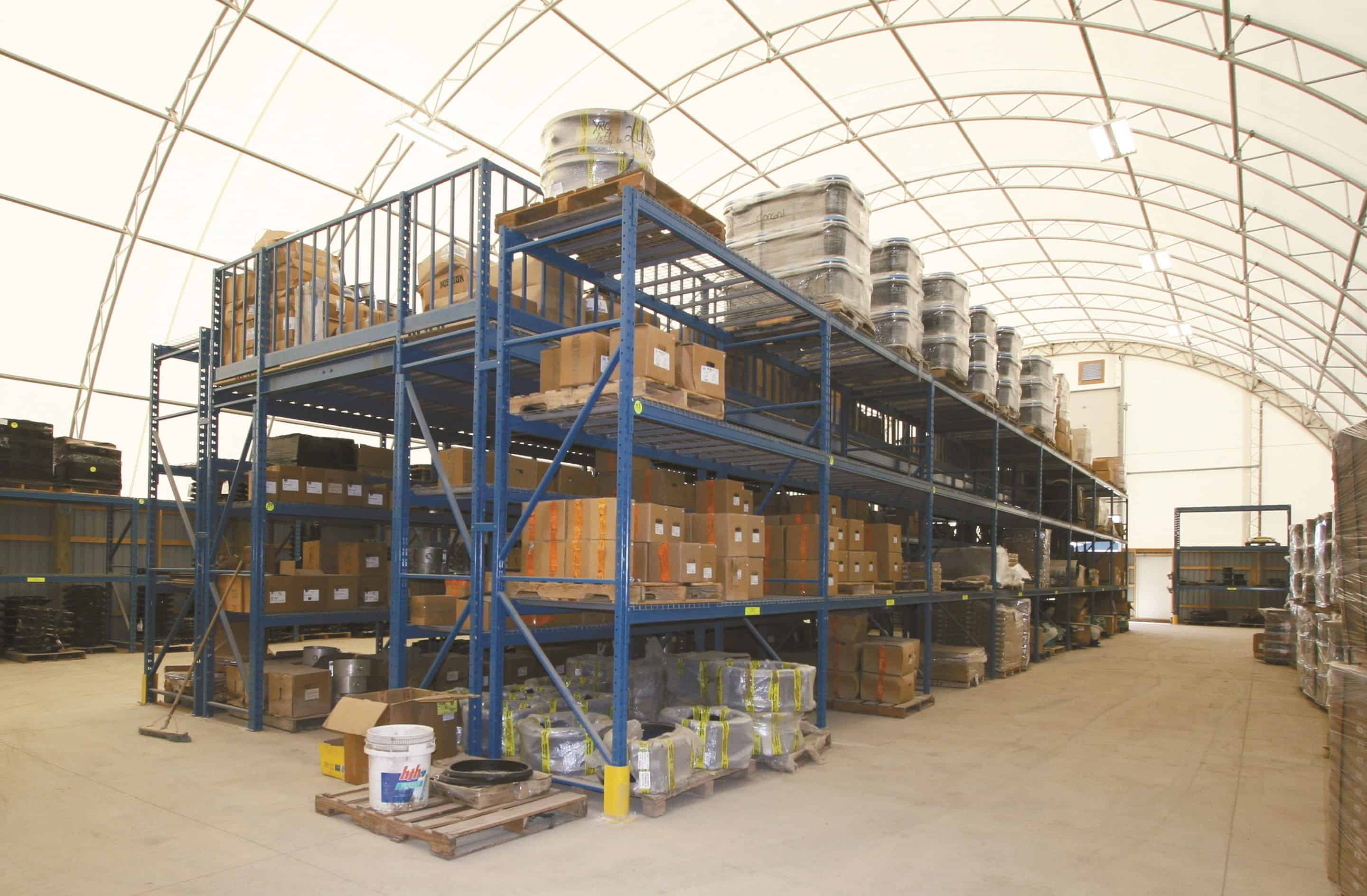 Fabric Buildings | Warehousing & Equipment Storage | Britespan