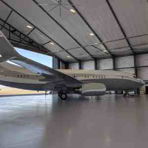 Million Air FBO 280' X 134' Fabric Structure Air Craft Hangar