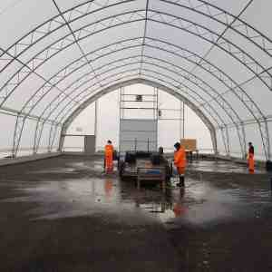 Quinte West 60' x 120' Equipment Storage Fabric Building