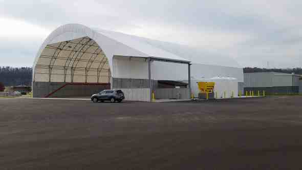 ODOT Tuscarawas Storage Fabric Structures