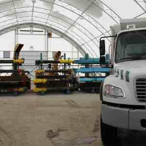 Warehousing Storage Fabric Building