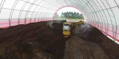 The Next Big Thing in Agricultural Composting: Fabric Buildings