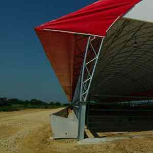 65' x 530' Beef Feed Lot Exterior