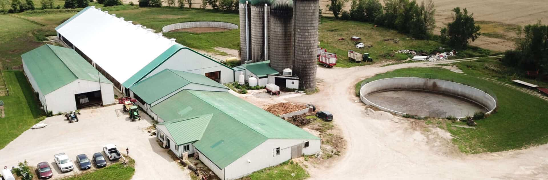 Fabric Barns & Dairy Cattle Barns built with Britespan Fabric Buildings