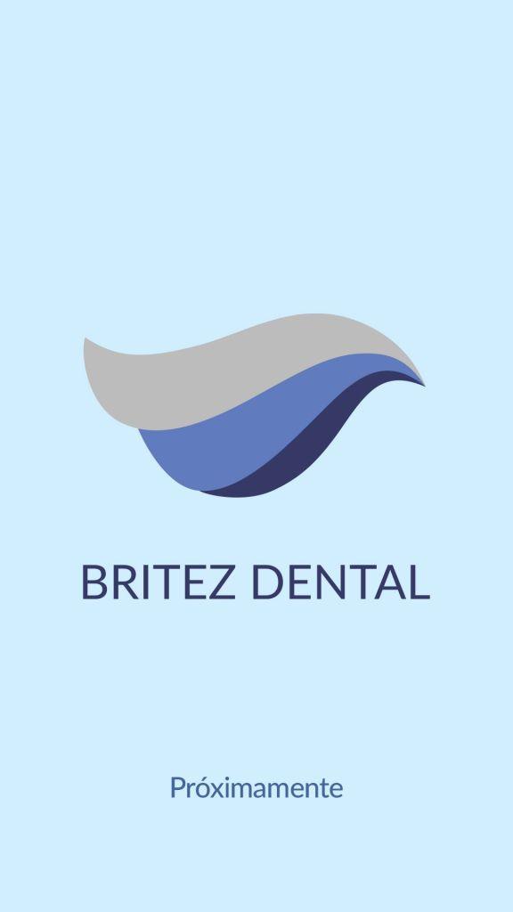 Foto que muestra el logo de Britez Dental y que pone próximamente