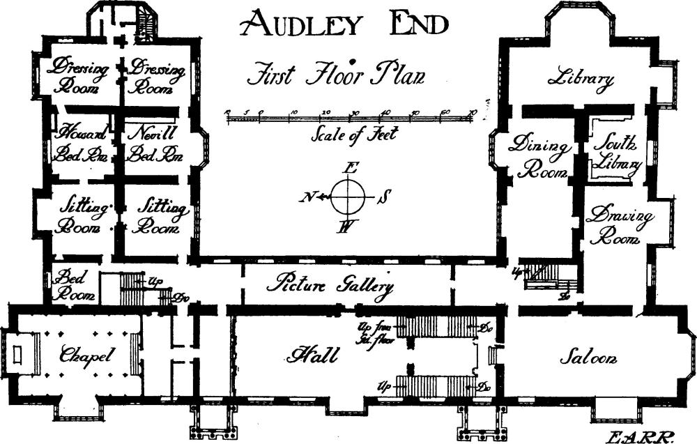 18th Century English Manor House Plans