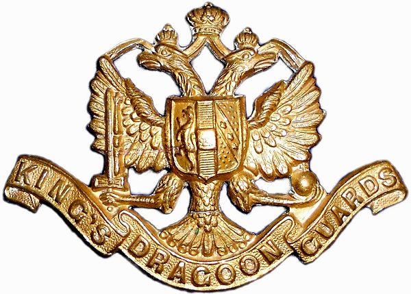 1st King's Dragoon Guards Badges
