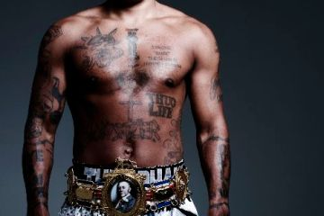 Ashley Theophane boxer