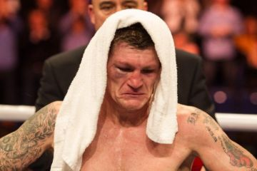 ricky hatton crying
