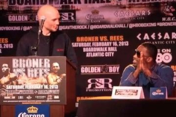 broner vs rees press conference