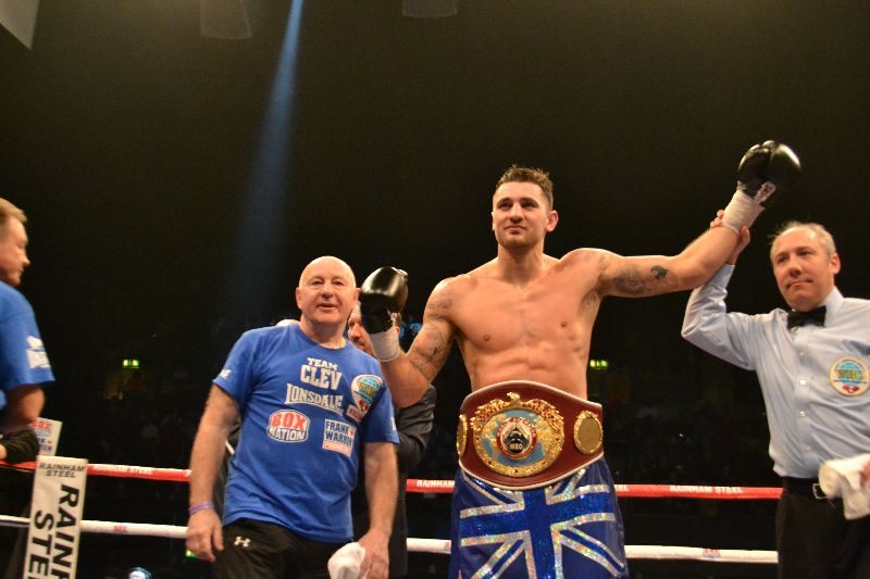 nathan cleverly retains his WBO world title belt www.britishboxers.co.uk