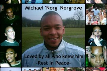 Michael Norgrove Tribute Pic - By friend Darren Perry