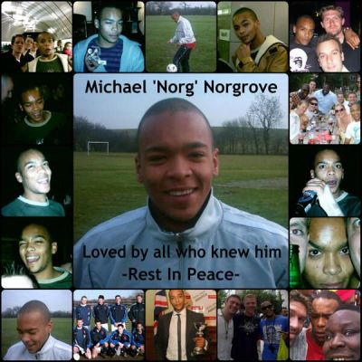 Michael Norgrove Tribute Pic - By friend Darren Perry