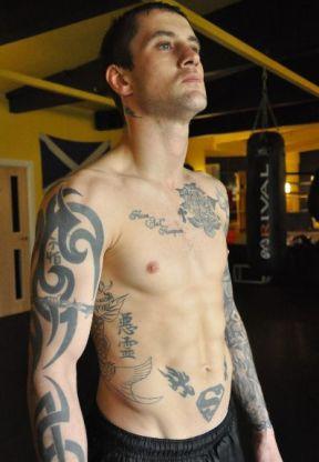 Ricky Burns boxing