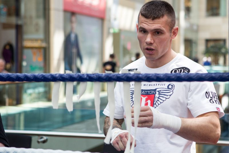 Martin Murray boxing