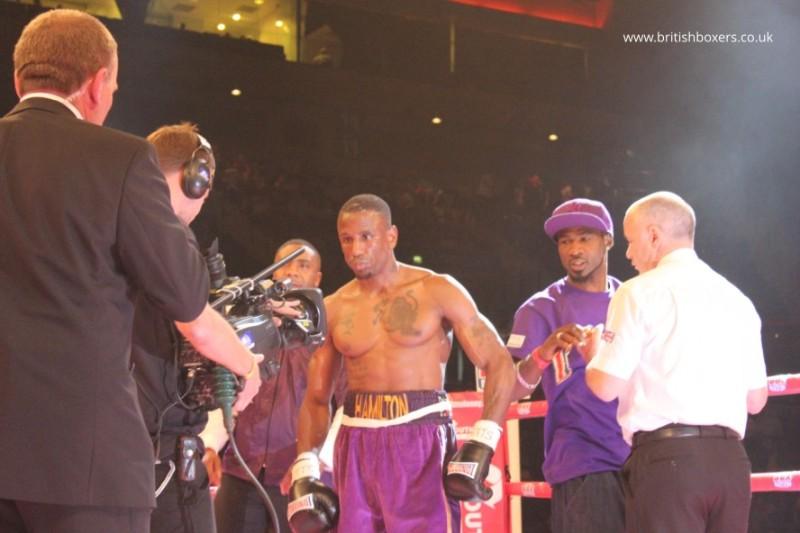 Darren Hamilton fighter boxer