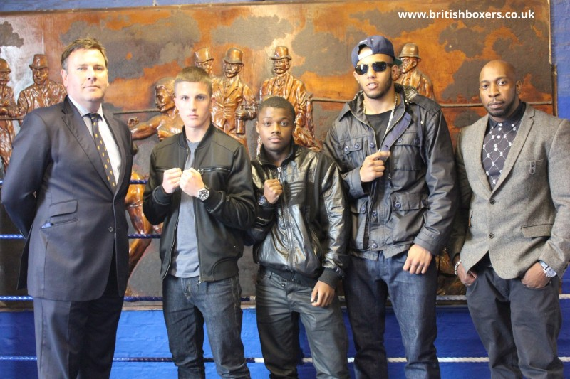 pat barrett gareth williams boxing manchester