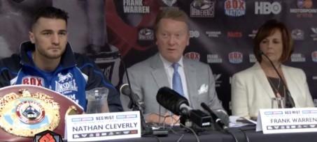 cleverly v kovalev press conference