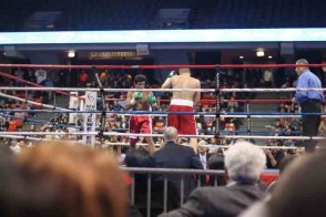 a boxing ring