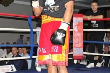Lennox Clarke UKO Boxing