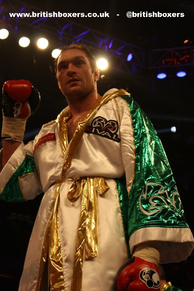 Tyson Fury boxing teamfury