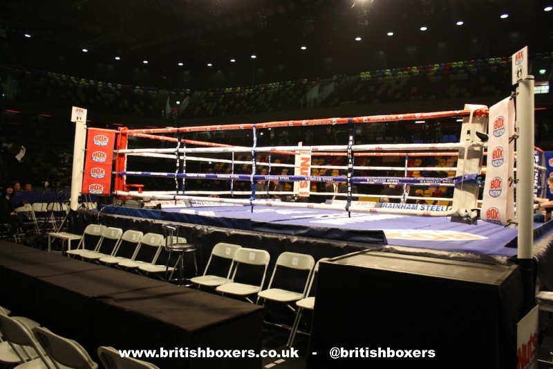 boxing at the copper box arena london